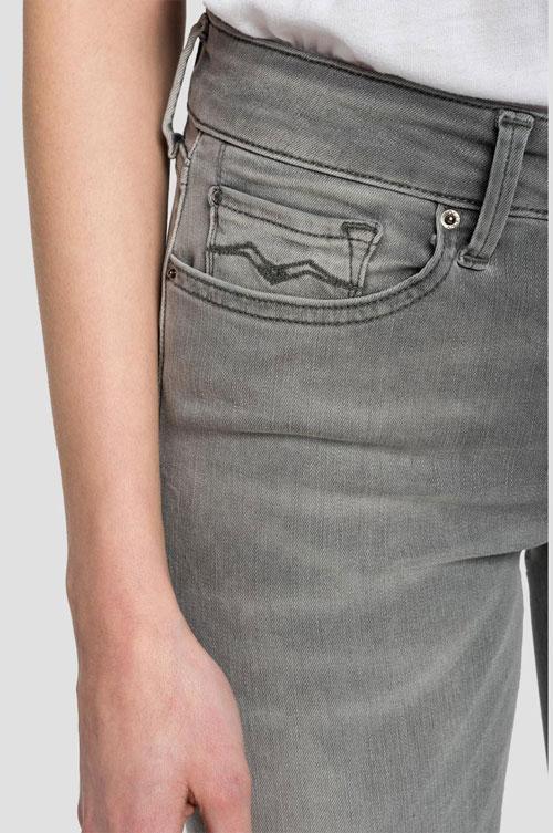 Replay ženske farmerice u sivoj boji