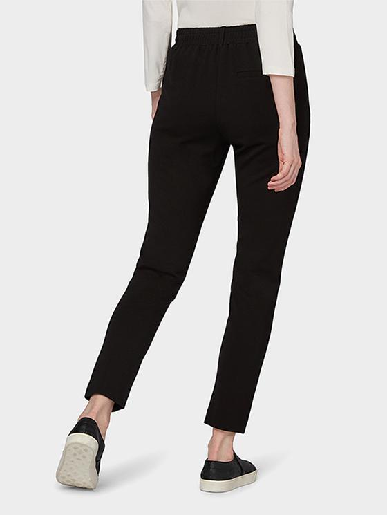 Tom Tailor ženske pantalone crne boje