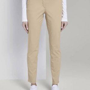 Tom Tailor ženske pantalone krem boje